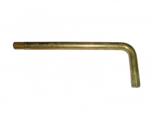 Ключ Г образный квадрат х 9мм L=60х165мм