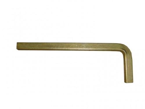 Ключ Г образный квадрат х 10мм L=55х165мм