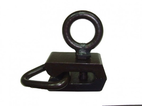 Зажим рихтовочный узкий с боковым кольцом