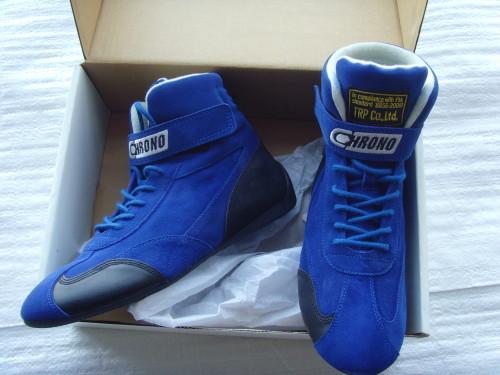 Ботинки CHRONA (FIA) цвет синий размер 44 ЦЕНА 5200