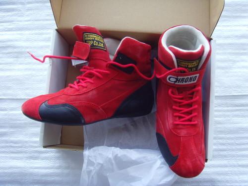 Ботинки CHRONA (FIA) цвет красный размер 43 ЦЕНА 5200